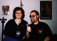Me and Eric Bloom in 1998