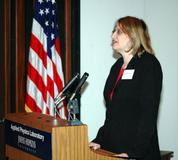Giving a talk at the NSA Cryptologic History Symposium in 2005